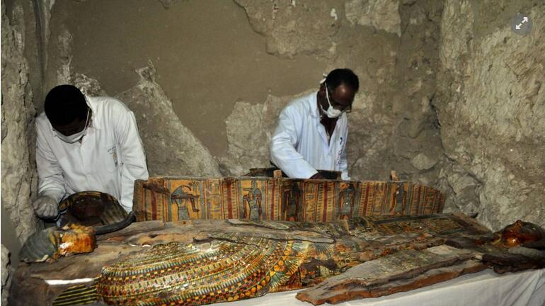 西班牙考古队发现4千年前古埃及花园遗迹