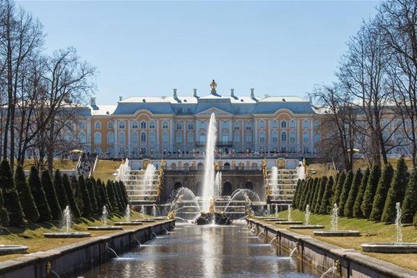 一带一路·好风光 春光明媚的圣彼得堡