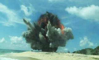 印度再射攻陆型布拉莫斯导弹 用来攻击岛礁