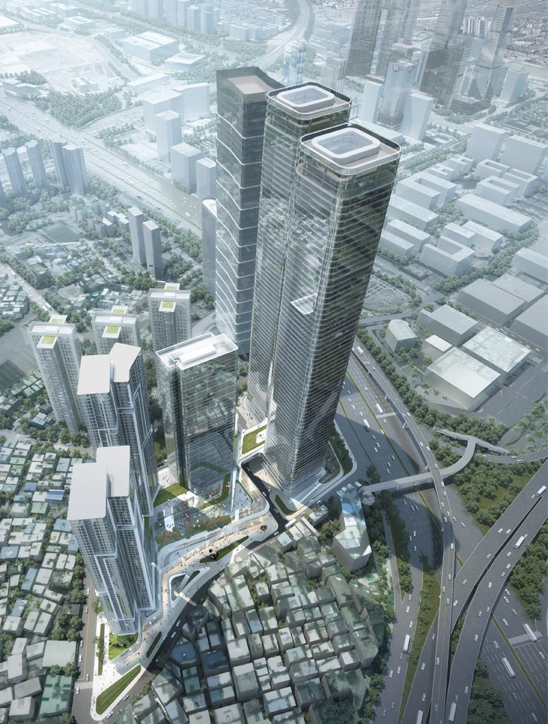 深圳中洲滨海商业中心钢结构项目顺利开吊