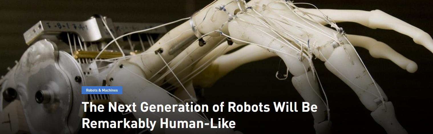 机器人如何才能更像人?关键要有一双灵活的手