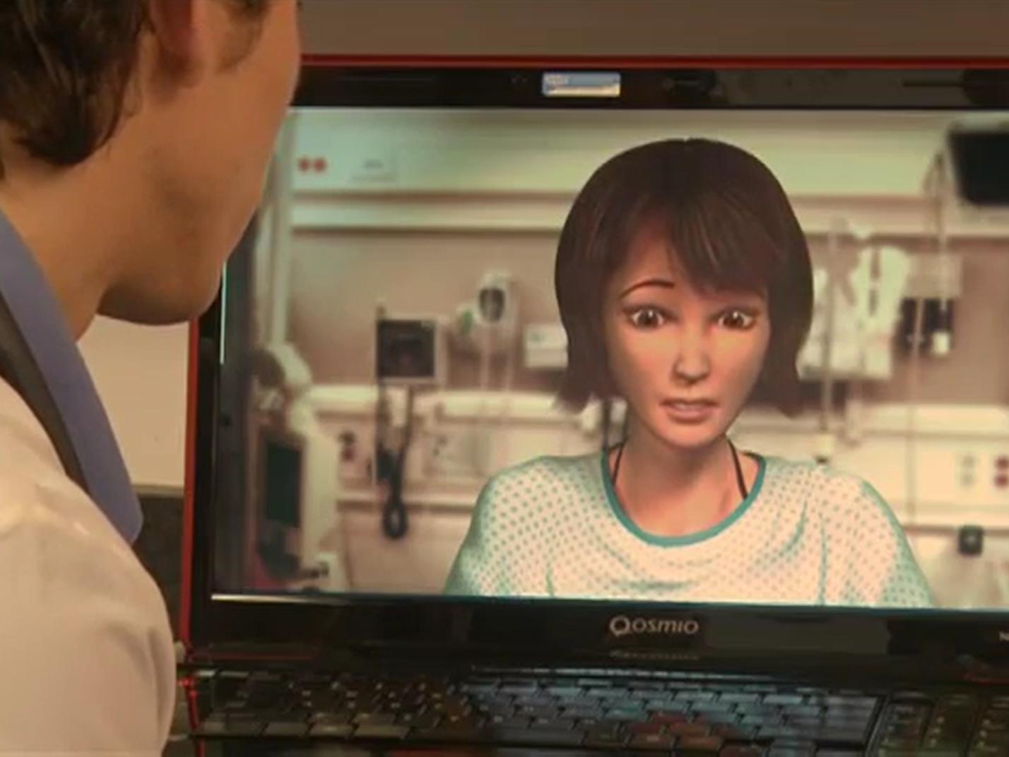 """医生研究用""""虚拟人类""""学习临床 改善医患矛盾"""