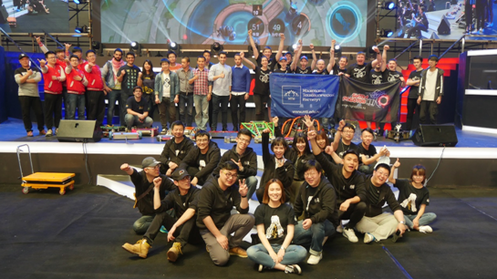 FMB机器人格斗世界杯热身赛结束 中国队伍获一冠军