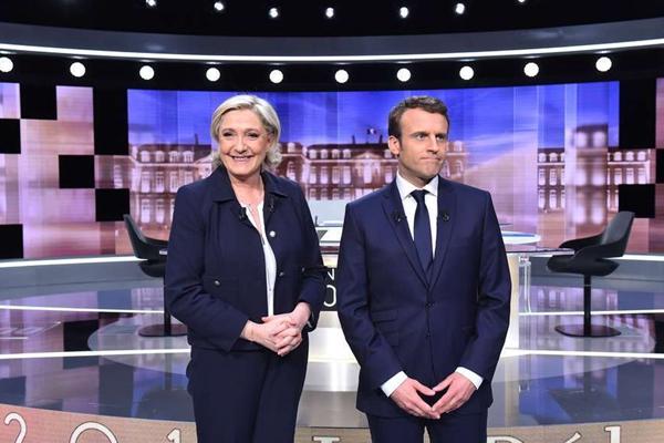 """法国大选电视辩论""""最后一战"""" 火药味浓厚"""
