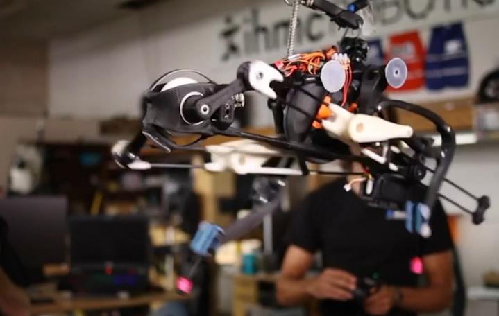 [视频]科技雷不撕:美国开发鸵鸟机器人