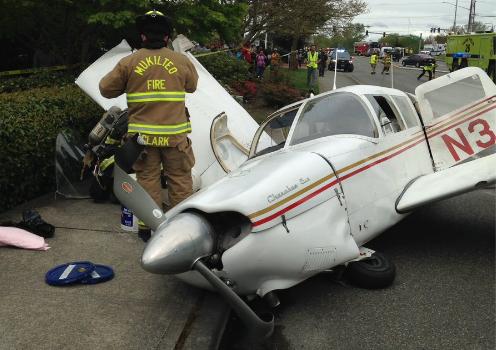 [视频]科技雷不撕:华盛顿州小型飞机在公路坠毁