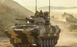 扮演假想敌美战车被改成俄战车样