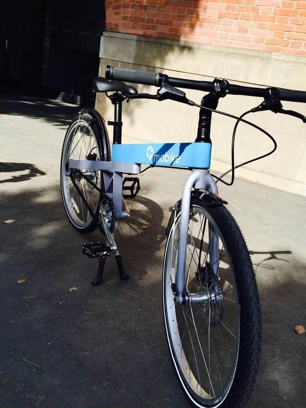 摩拜单车最早是蓝色:名字又土又难听