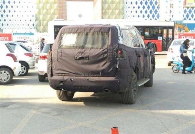 W5继任者 曝荣威全新硬派SUV测试谍照