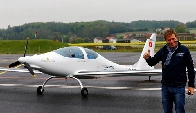 瑞士太阳能飞机冲出地球?飞行高度可达24000米
