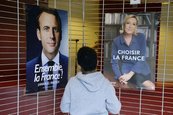 法国大选第二轮:境外公民参加投票