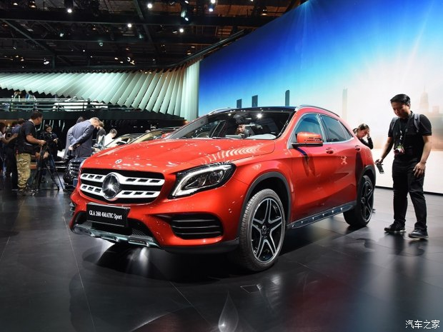 造型升级 北京奔驰新款GLA将于6月上市