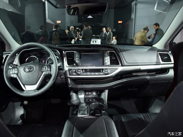 外观新升级 丰田新款汉兰达国内专利图