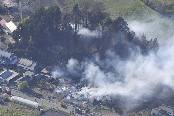 日本宫城县发生山林火灾 117户家庭避难