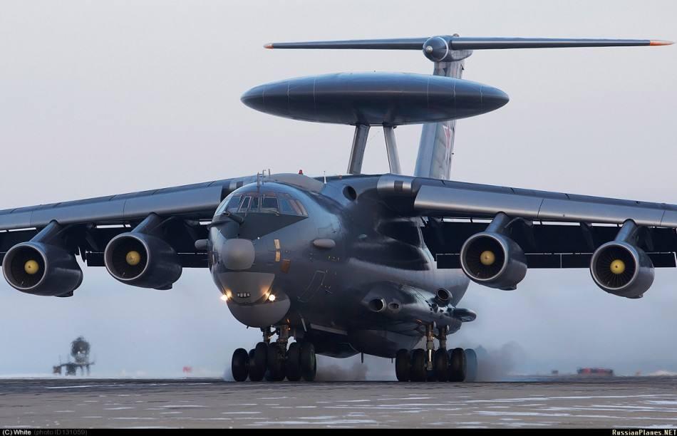回击美军空袭?卫星拍到俄军预警机重返叙利亚