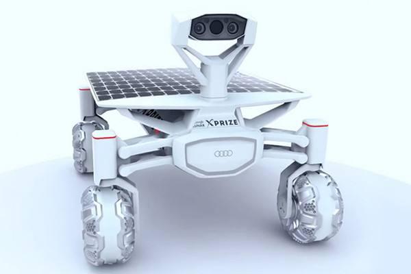 奥迪月球车2018年登月研究阿波罗17号