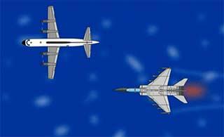 飞豹低空拦截动画对手是美军舰