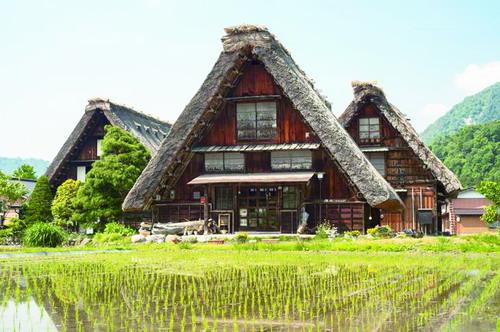 日本高山小镇将前宅往事珍藏