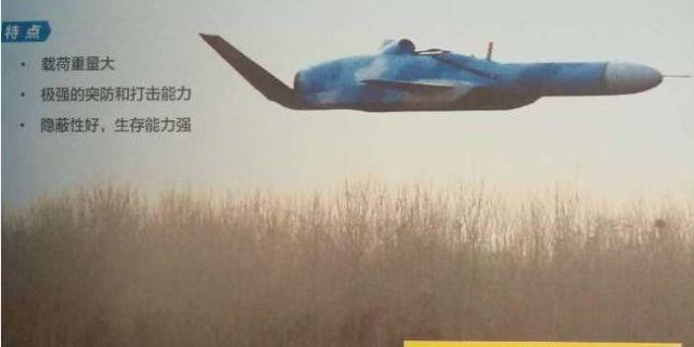 美媒:中国研掠海反舰无人机 更难被雷达发现