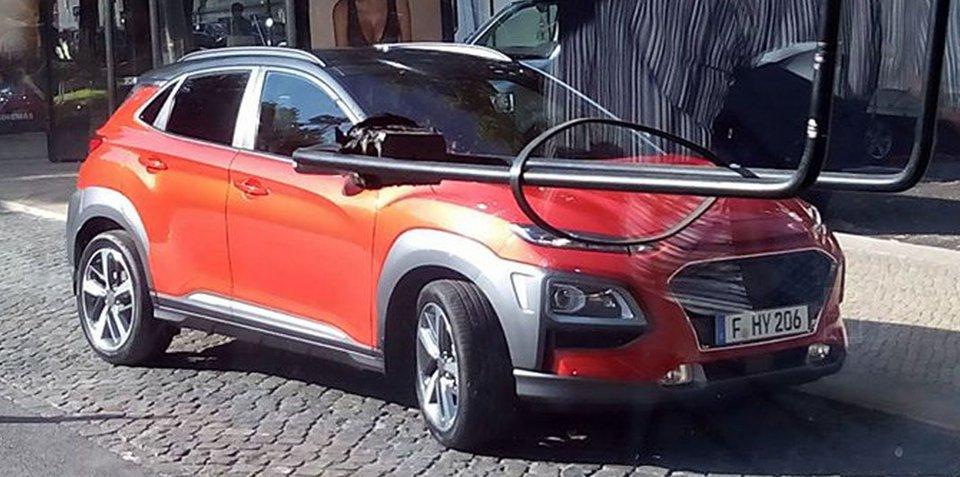 现代全新Kona SUV实车曝光 有望今年上市