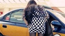 国外美女大学生北京打黑车遭强行猥亵