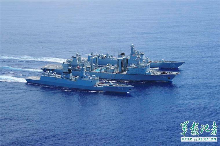 俄媒:中国海军接过新使命 编队远航证明全球能力