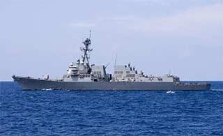 美日两国南海进行联合军演