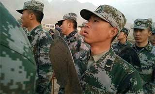 新疆5.5级地震 边防官兵迅速驰援
