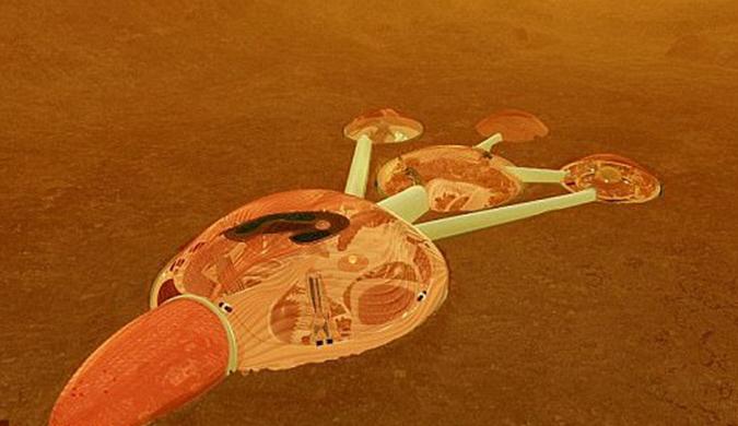 阿联酋与NASA合作:2117年火星建第一座城市