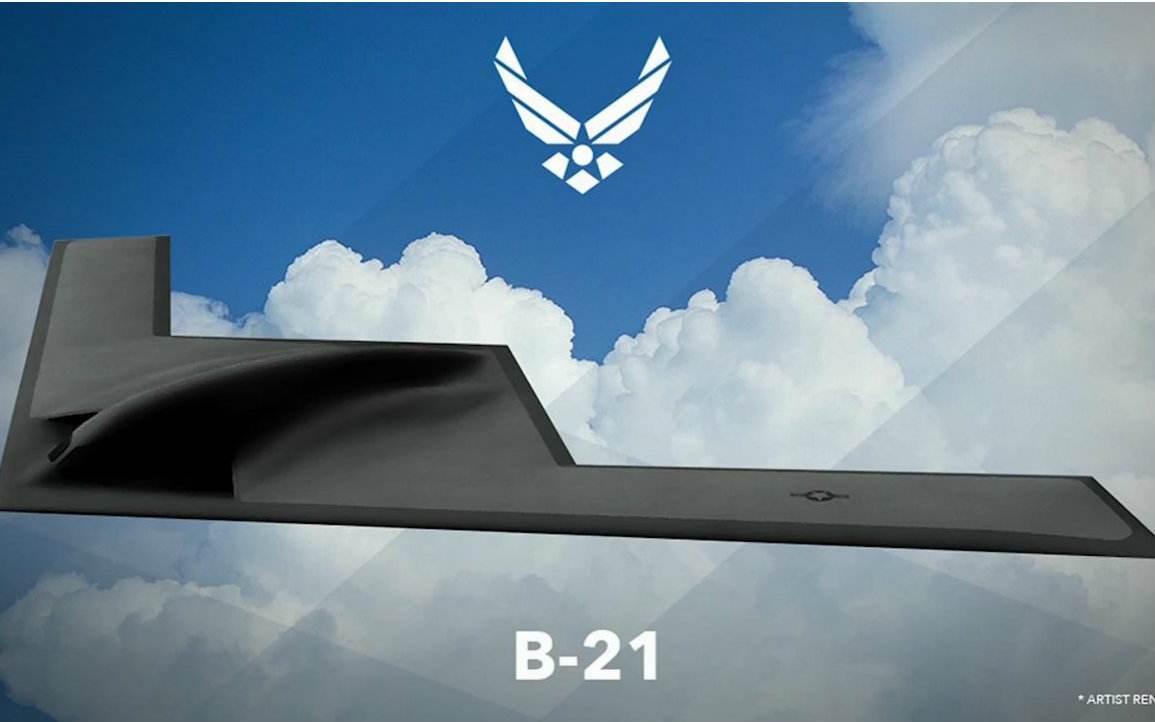 美新空军部长借中国威胁论力推B21隐形轰炸机