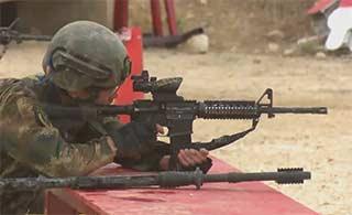 约旦特种兵竞赛武警部队勇夺冠军