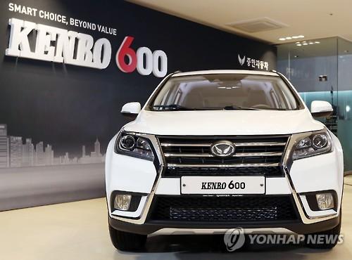 北汽银翔SUV在韩需求持续增长 将增加进口