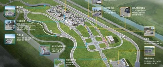 韩国拟建全球最大无人驾驶汽车测试平台
