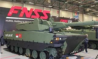 土耳其与印尼合研坦克外形科幻