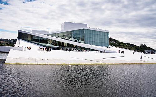 """北欧建筑""""不经意""""置身自然"""