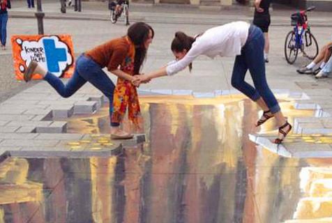 惊掉下巴的街头艺术!