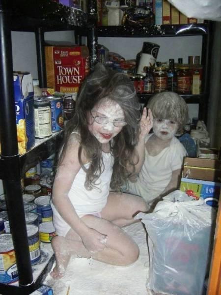 家中的捣蛋鬼图片