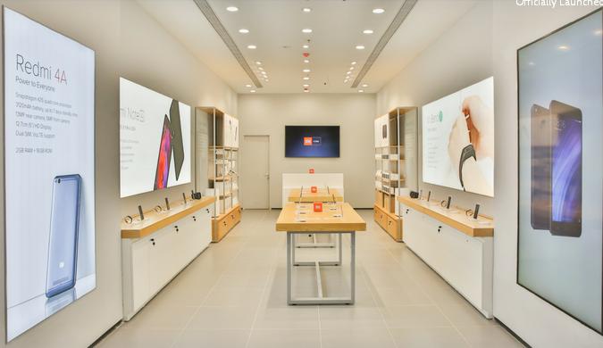 小米印度首开Mi Home Store 未来将设100家零售店