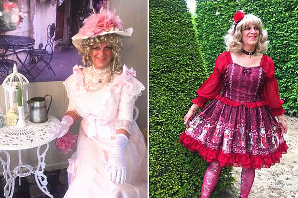 美变性妇女穿萝莉装找到精神归宿 重塑身份认知