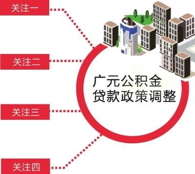 广元市调整部分住房公积金贷款政策