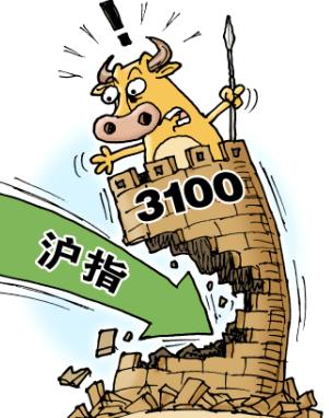 沪指3000点保卫战全面打响 李大霄:市场未来将回暖