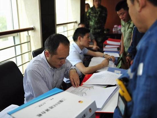 国务院消防工作考核组赴中石油四川石化检查工作