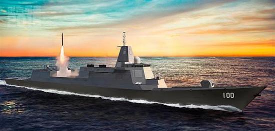 专家:中国需要万吨大型驱逐舰 可增强反导能力
