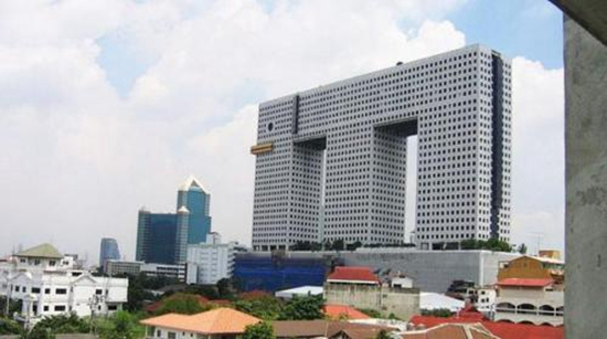 全球24栋最丑摩天楼:曼谷两栋地标式建筑入榜