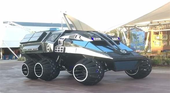 NASA发布火星探测器模型 外形酷似蝙蝠战车