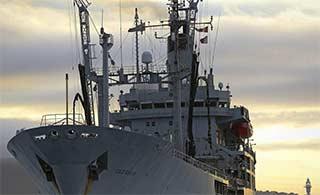 帝国余辉:服役43年英军舰退役