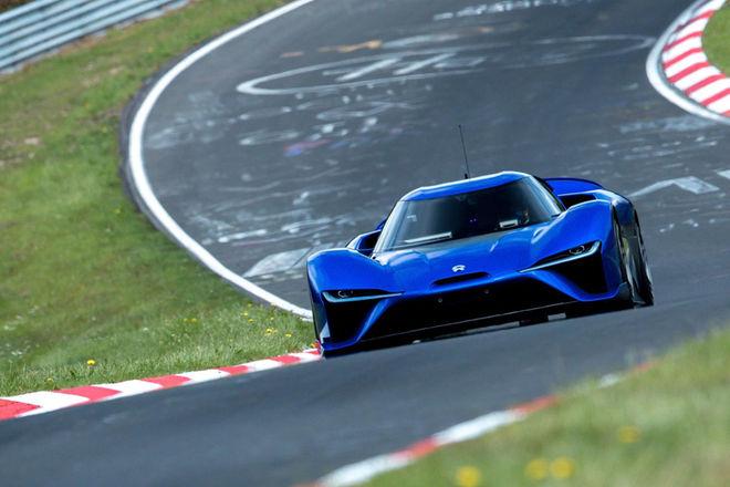 6分45秒90 蔚来EP9创造量产车纽北圈速纪录
