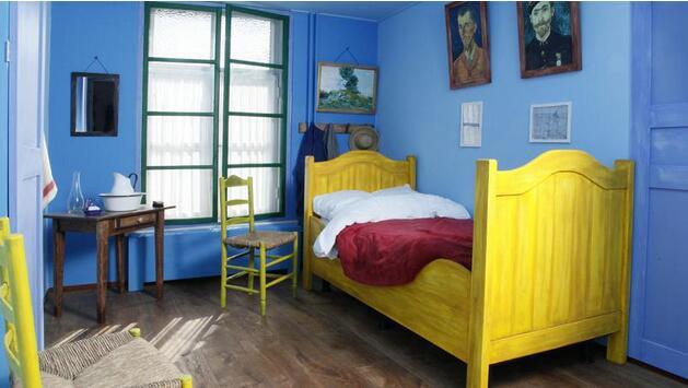 荷兰创意酒店 邀你在梵高名画中好梦安眠