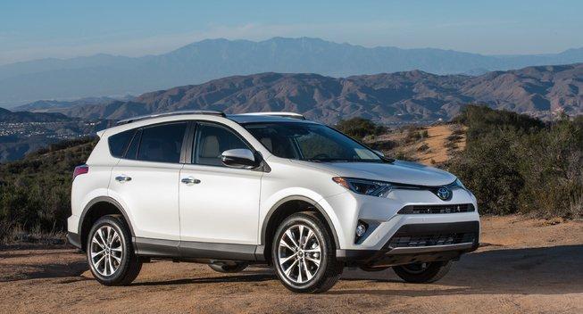 2017年款丰田RAV4在美降价 起价合16.8万元