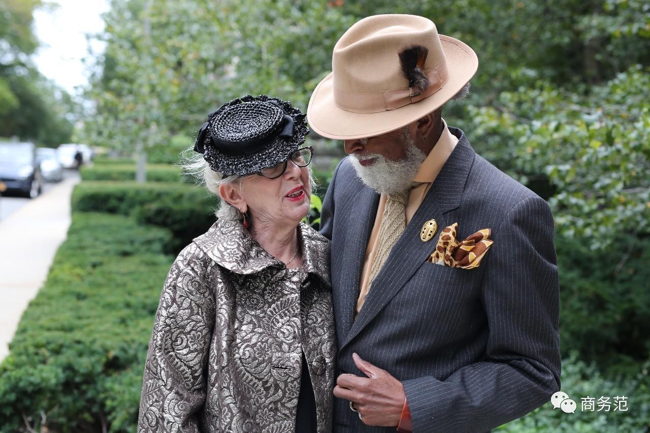 其实人无论什么年纪,都可以优雅时髦